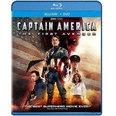 Captain America: The First Avenger (Blu-ray + DVD) (Widescreen)