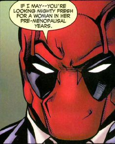 Deadpool funny fresh, don't really see this working too well though...