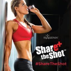 Isagenix E+ Energy Shots | Natural Energy Drinks |Share the Shot