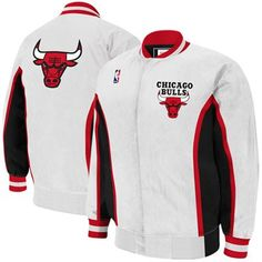 Mitchell & Ness Chicago Bulls Vintage Warm-Up Jacket for $149.95 #FathersDay