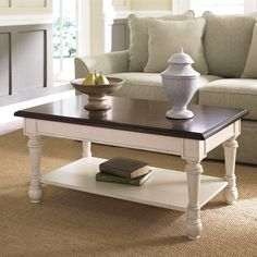 Hammary T2001800-02 Promenade Rectangular Cocktail Coffee Table, Fruitwood - Home Furniture Showroom