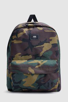 e67427d7c6 Mens Vans Camo Old Skool II Backpack - Green