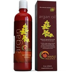 Argan Oil Shampoo, Sulfate Free, 8 oz. - With Argan, Jojoba, Avocado, Almond $14.95 WAS $25 - http://supersavingsman.com/argan-oil-shampoo-sulfate-free-8-oz-argan-jojoba-avocado-almond-14-95-25/