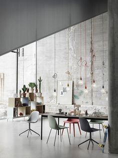 Epic Danish brand Muuto presented it us collection for Spring a new perspective on Scandinavian design