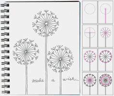 Art Projects: How to Draw a Dandelion