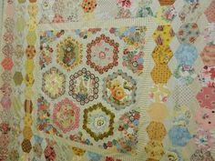 Hexagones by Brigitte Giblin !!!!  Pour l'amour du fil - Nantes 2012