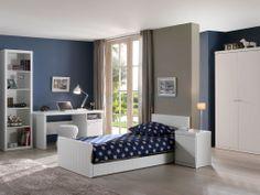 Chambre style Robin blanc pour enfant - Création chambre enfant | Emob4kids