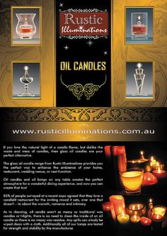 http://www.fiverr.com/activecomputech/create-a-flyer-design  Oil Candle #flyer #poster