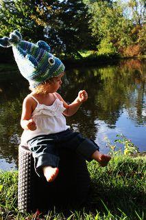 Stinky Fish Hat by Catrina Usher. Free pattern!