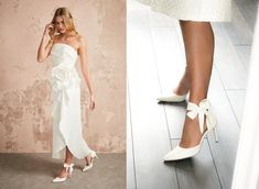 Harriet is inspired by ballet ribbons and the sense of movement and flow they evoke. The stretch satin sash mirrors this feeling as it dances around your ankles keeping you stable and helping you effortlessly float down the aisle in comfort and style. Click through to explore more on our blog. Ribbon Shoes, Satin Sash, Bride Shoes, Stretch Satin, Tie The Knots, Suits You, Your Shoes, Formal Dresses, Wedding Dresses