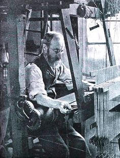 England's first silk-weaving operations were established in the middle of the fifteenth century, and a small industry in ribbons, fringes, and other decorative items was moderately successful. However, it wasn't for another century that the industry would truly be born.