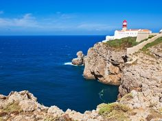PORTUGAL - Sagres Lighthouse and Surfing