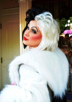 Cruella de Vil by EverythingDisney, via Flickr #makeup