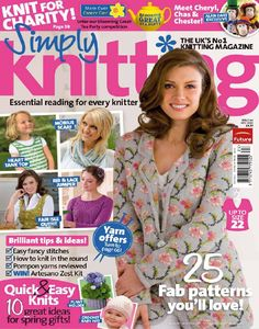 Simply Knitting - May 2010 - Laura C - Picasa Web Albums Knitting Books, Crochet Books, Knit Or Crochet, Lace Knitting, Knitting Stitches, Knitting Patterns, Knitting Ideas, Simply Knitting, Simply Crochet