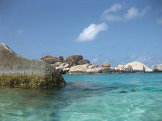 The Baths on beautiful Virgin Gorda in British Virgin Islands is a beach that's hard to forget!