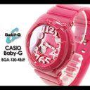 CASIO/G-SHOCK/g-shock g shock G shock G-shock Baby-G baby G baby g women  watch [Neon Dial Series] (the neon dial series) BGA-130-4BJF Lady's watch  [fs01gm]