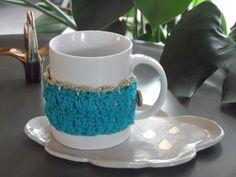 coton et gourmandises: Tuto cosy mug ou tour de tasse au crochet