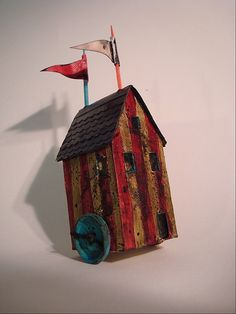 Circus house by Mandy Jordan