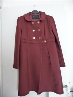 Manteau en laine tara jarmon