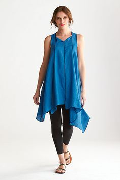 Jump Tunic: Cynthia Ashby: Linen Tunic | Artful Home