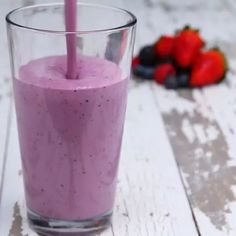 Mixed Berry Smoothie Meal Prep