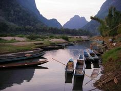 Muong Ngoi is only accessible by boat