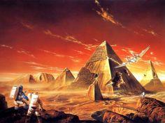 Labyrinth of Night by Bob Eggleton