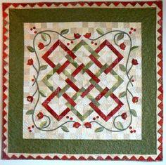 Trellis Quilt pattern $12.00 on Jillily at http://www.jillilystudio.com/shop/Patterns/p/Trellis.htm