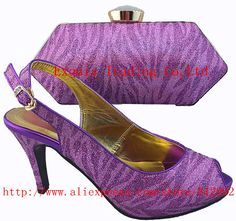 c3440ad9ea New italian design lady shoes with matching bags for
