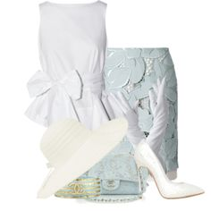 """Beautiful Blue"" by cavell on Polyvore"