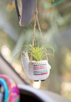 Search results for: 'car stuff llama mini hanging faux succulents' Natural Life Hanging Succulents, Faux Succulents, Succulent Pots, Hanging Terrarium, Succulent Gardening, Succulents Garden, Organic Gardening, Hippie Car, Cute Car Accessories
