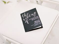 25 Ceremony Program Ideas You'll Love | TheKnot.com