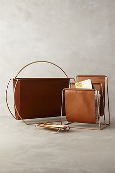 Saddle Ring Desk Collection - anthropologie.com