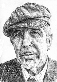 Leonard Cohen. Just a kid with a crazy dream.....