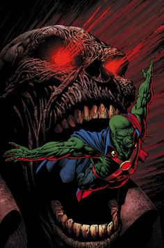 Martian Manhunter by David Finch
