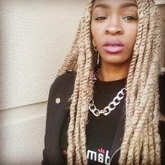 Blonde Marley Twists