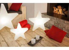 Lampe d'ambiance étoile lumineuse Noël 8 season's design chez www.ksl-living.fr