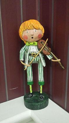 ESC Trading Lori Mitchell - St Patrick's Day - Frances the Fiddler ...