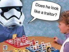 Star wars, traitor, Finn