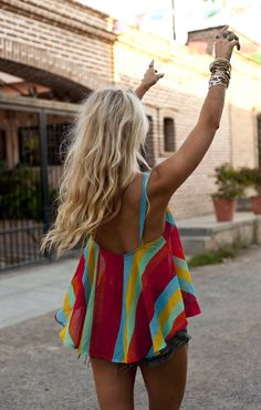 Mumu Stripes...cute top