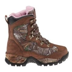 Academy - Game Winner® Women's All Terrain Camo IV Hunting Boots. I have these and LOVE THEM!