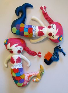 Floating Mermaids by Eclectic Critters
