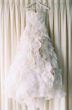 So much flowey deatil Laura and Brentons Rustic Queensland Wedding