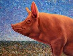 Image result for pretty pig art