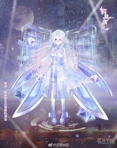 Anime Girl Crying, Anime Art Girl, Female Character Design, Character Art, Nikki Love, Wings Design, Anime Dress, Anime Princess, Anime Fairy