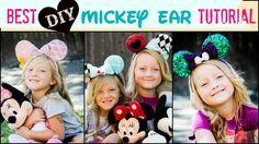 BEST Mickey Ear Tutorial