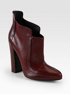Alexander Wang - Kim Leather Ankle Boots - Saks.com