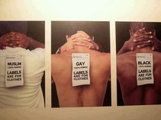 Labels are for clothes