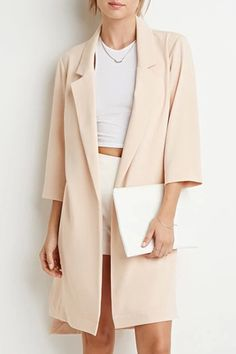 Lapel High Low Trench Coat #zaful #style #coat