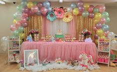 Unicorns Birthday Party Ideas | Photo 1 of 20